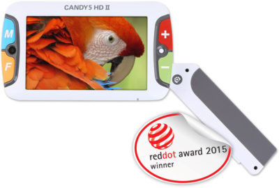 Assistive Technology, CANDY 5 HD II Video Magnifier by HIMS